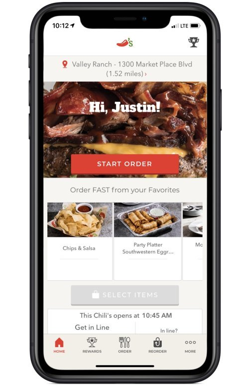 Mobile Apps | Chili's